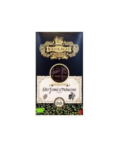 Tablete de Chocolate São Tomé NAU DO CACAU